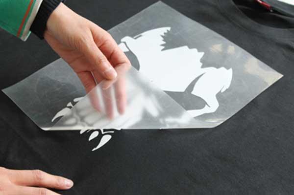 Как сделать картинку на футболке в домашних условиях без термо бумаги, для военного